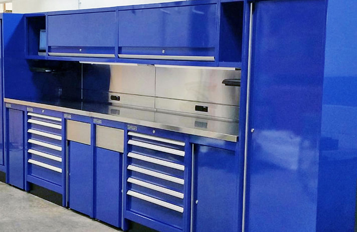 Champion Tool Storage Dealer Service Bay Workbench
